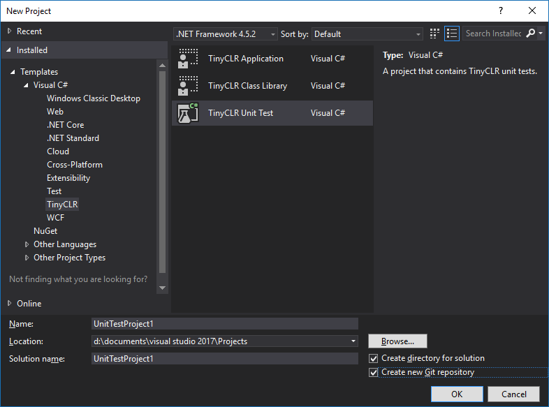 TinyCLR Unit Test Project System - Visual Studio Marketplace